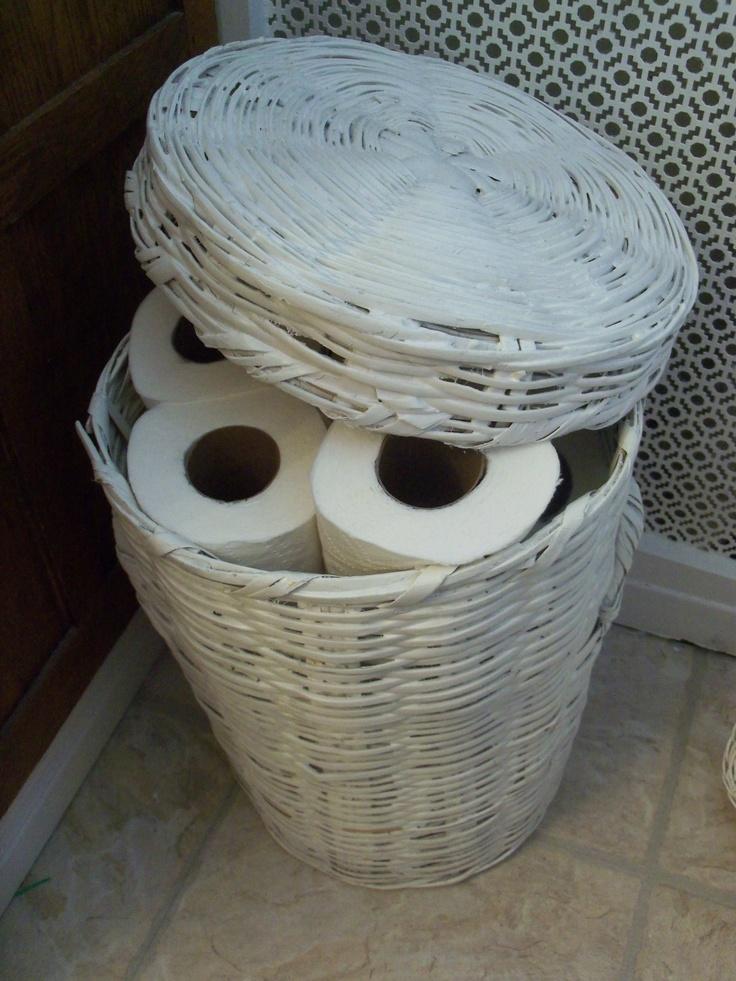 Хранение туалетной бумаги своими руками 207