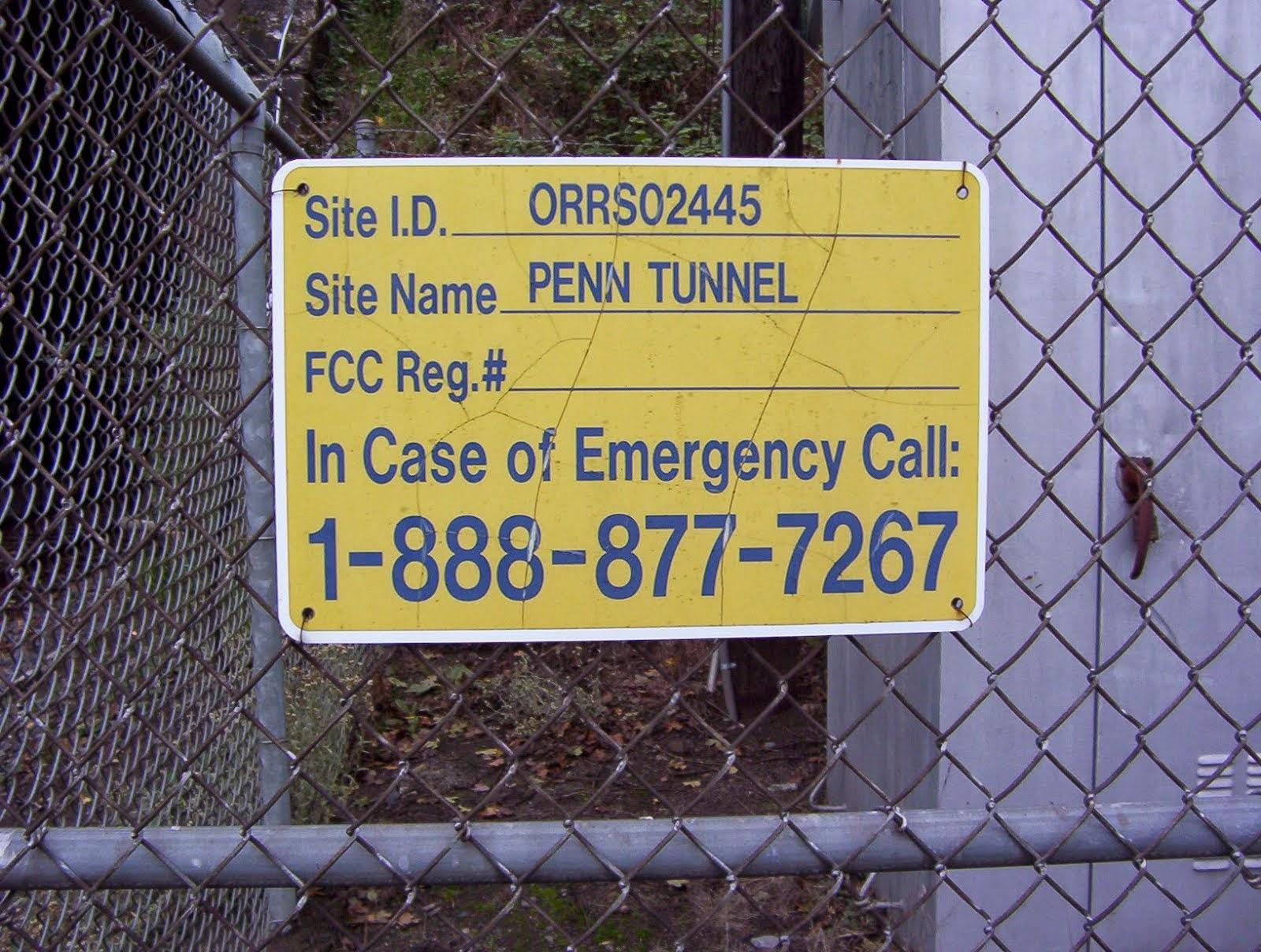 Sign at South Entrance