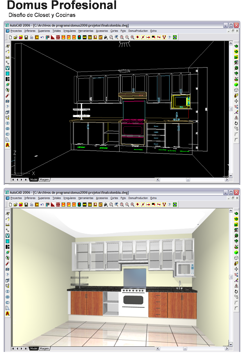 Dise o de muebles madera domus profesional software for Programa diseno muebles 3d