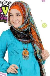 Clover Clothing Pashmina Tribal - Tosca (Toko Jilbab dan Busana Muslimah Terbaru)