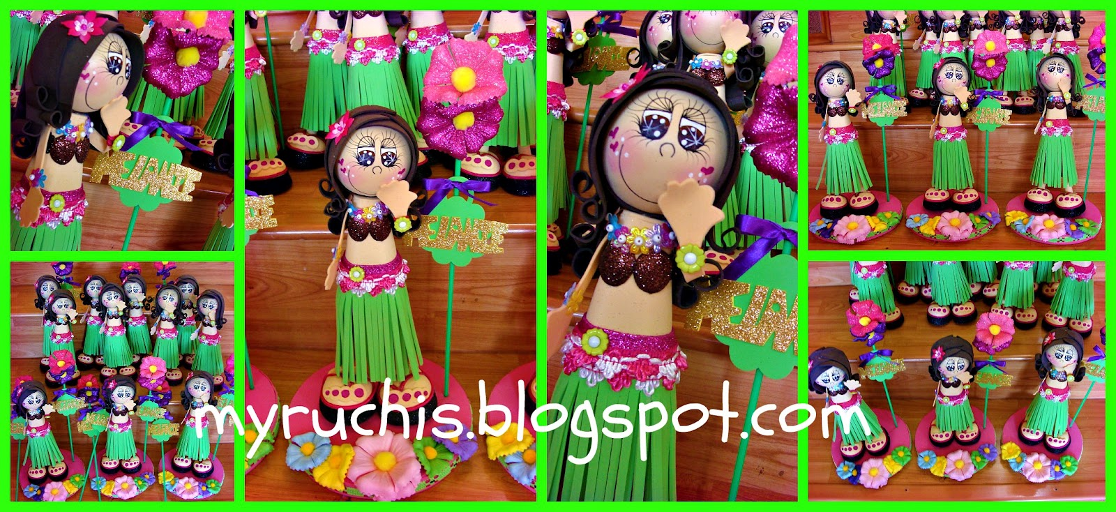 Myruchis ideas para fiestas infantiles hawainas for Ideas para fiestas infantiles