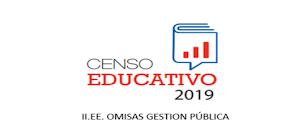 CENSO EDUCATIVO 2019 OMISOS PUBLICO