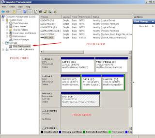 Pilih Disk Management
