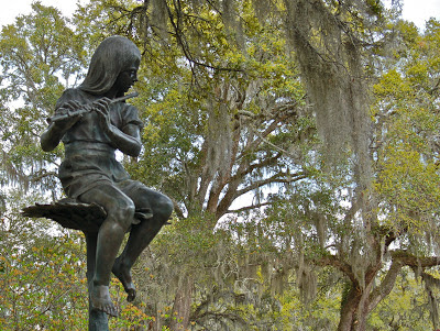 Sunflowers by Charles Parks at Brookgreen Gardens
