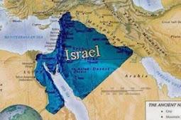 """Peta Israel Raya """"Kerajaan Dawud"""""""