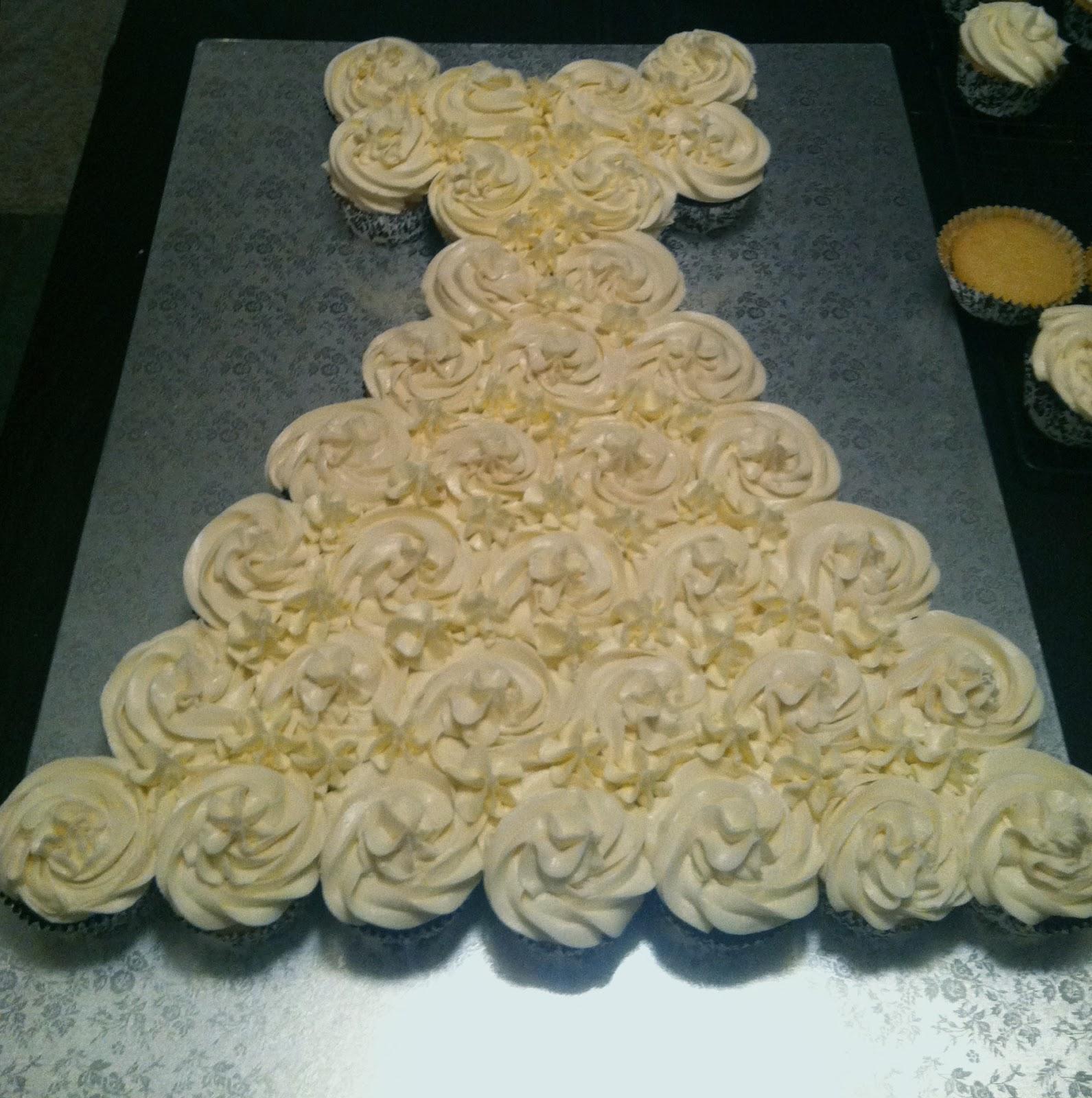 flour girl custom bridal shower cake