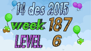 Angry Birds Friends Tournament Week 187 level 6