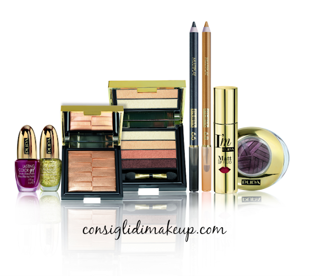 Preview: Collezione Natale 2015 Stay Gold - Pupa