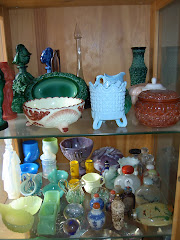 MY ANTIQUE GLASS COLLECTION