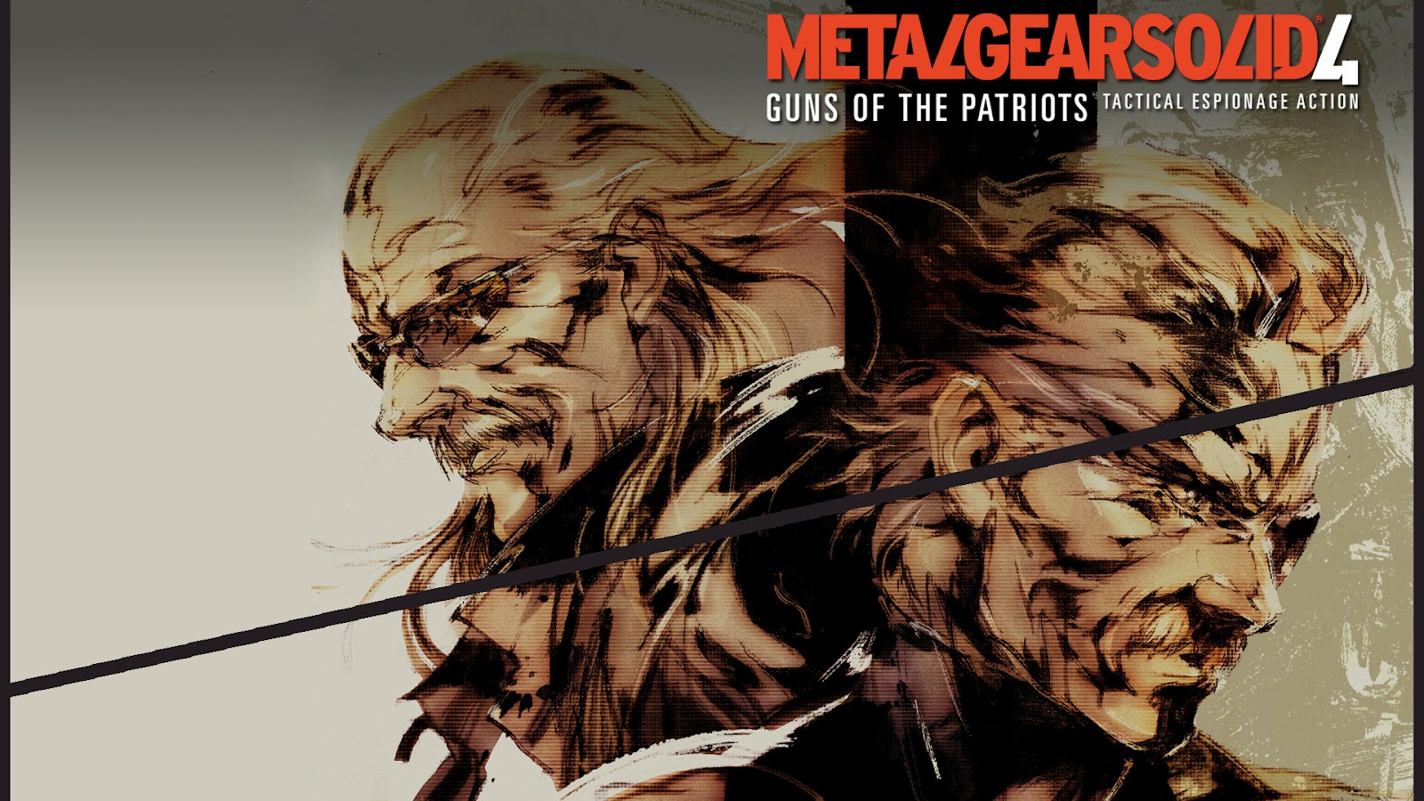 Metal Gear Solid 4 HD PS3 by TexStar05 Metal Gear Solid 4: Guns of the Patriots Wallpapers in HD