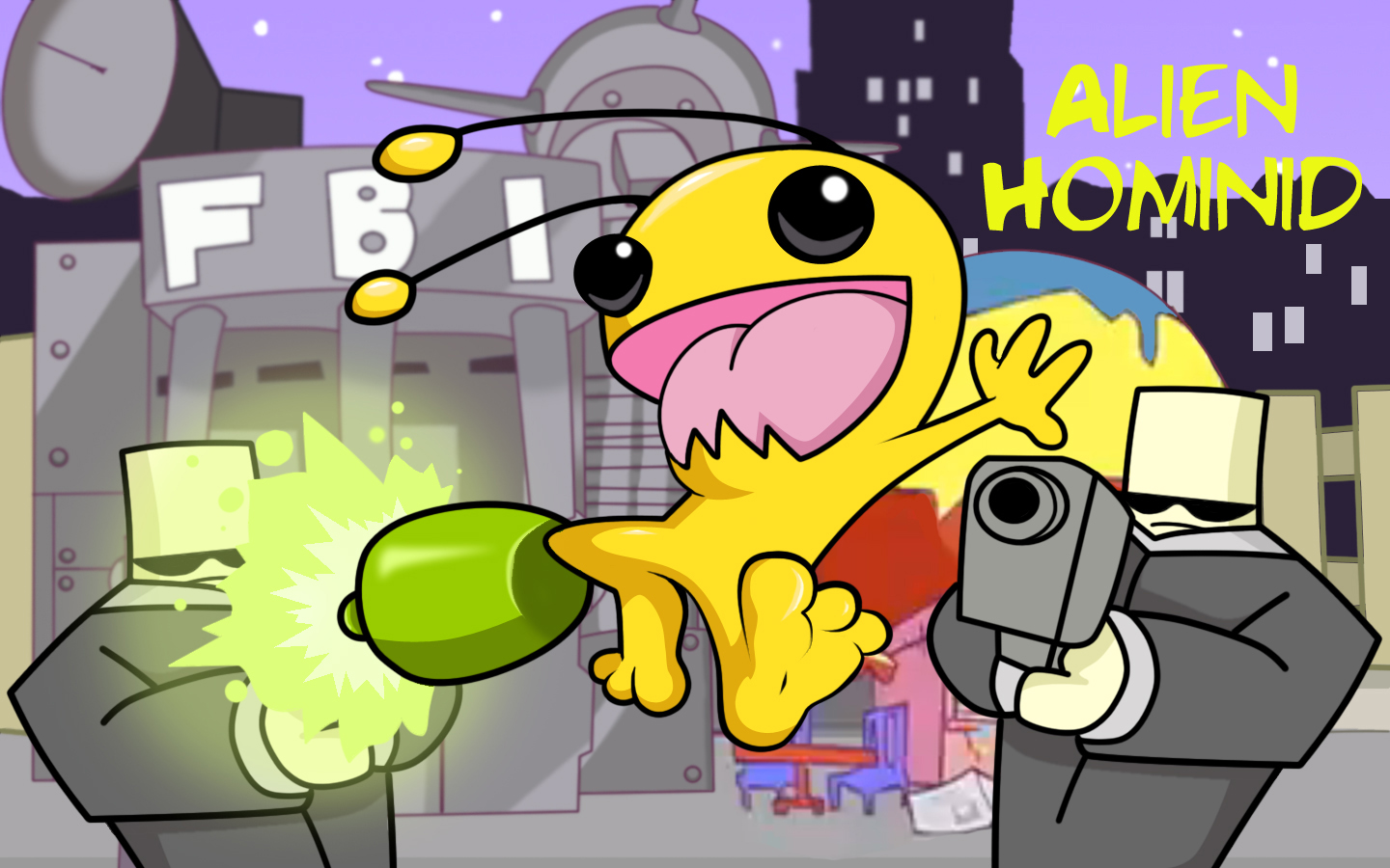 Alien Hominid For Pc