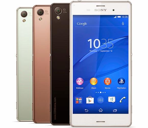 Harga Sony Xperia Z3 Dual dan Spesifikasi Lengkap