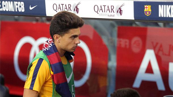 Marc Bartra volvió a quedarse sin jugar en el Camp Nou