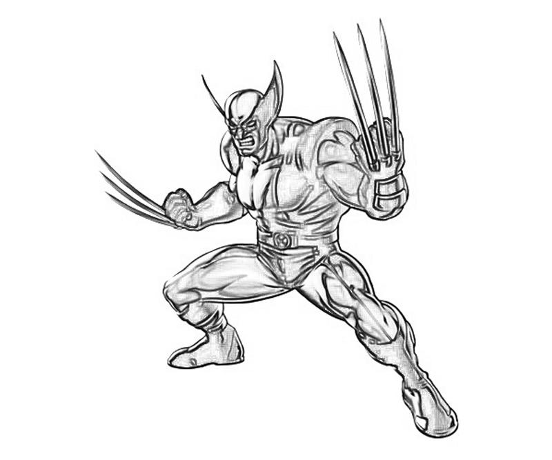 marvel-vs-capcom-wolverine-coloring-pages