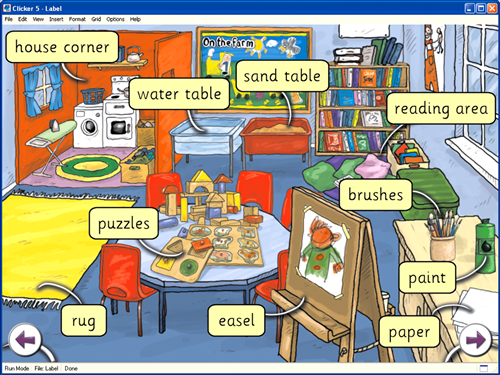 Primbon weisiya agustina 17 vocabulary around the house for Dining room vocabulary esl