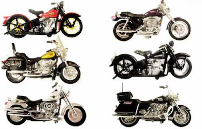 Harley Davidson collectibles