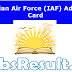 Indian Air Force (IAF) Admit Card 2015 Group X C Hall Ticket