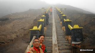 Mt.Bromo climbing steps