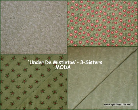'Under de Mistletoe'- 3-Sisters MODA