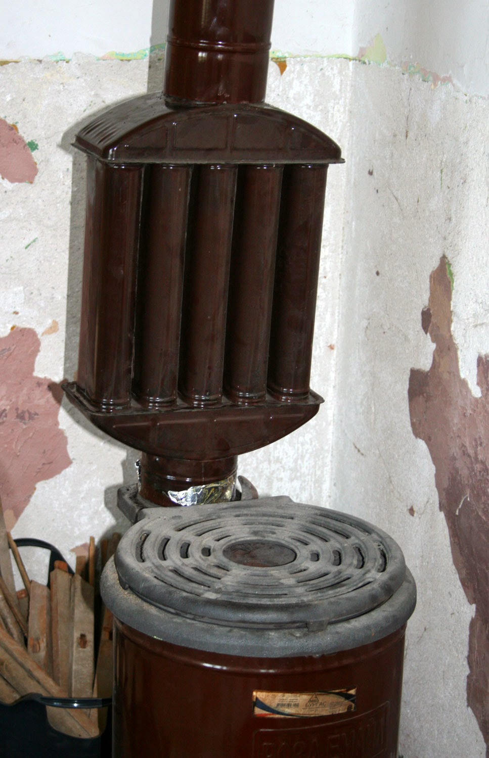Radiator on Petchka