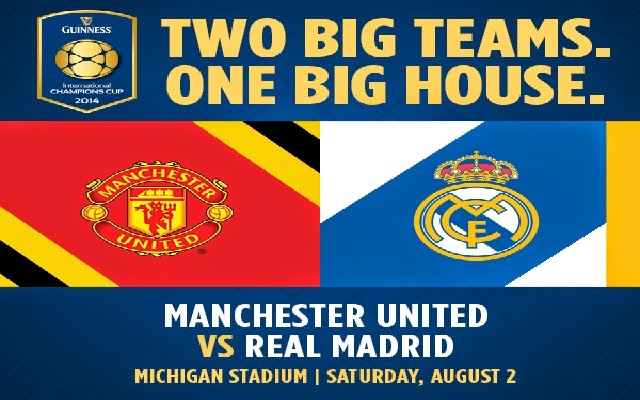Manchester United Comes to U of M's Big House