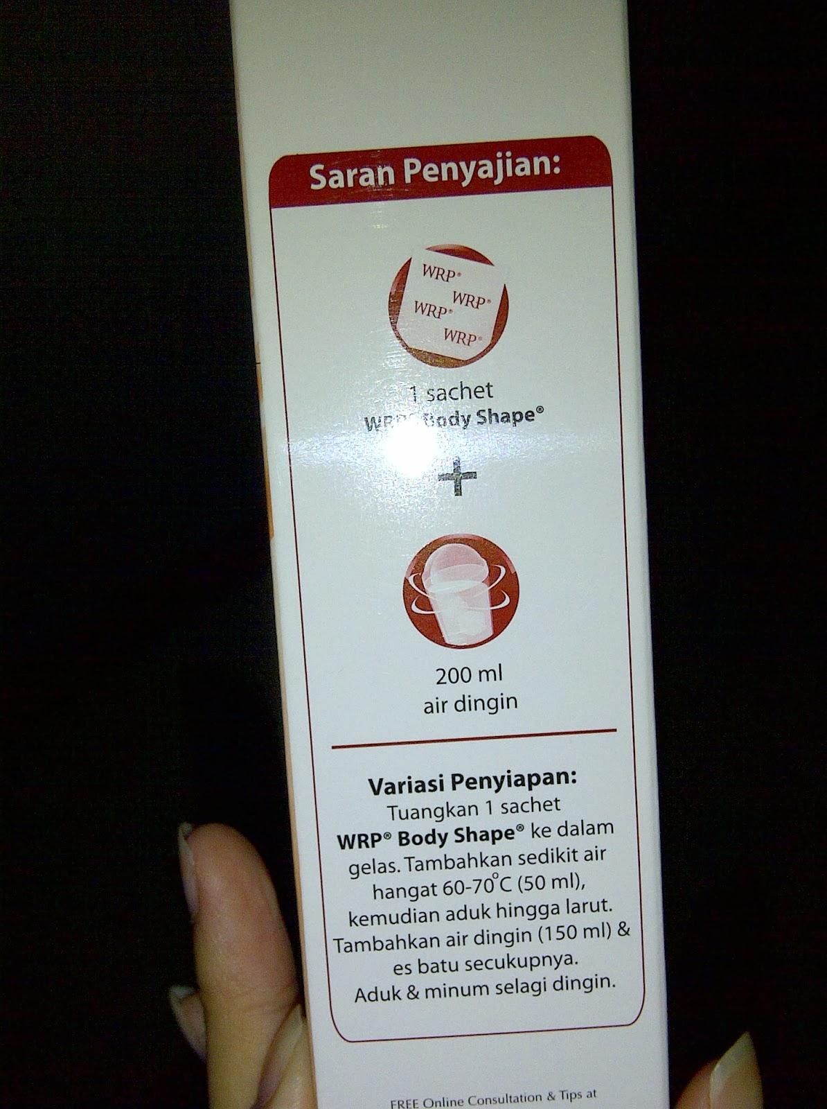 WRP Active Body Shape Balanced Vanilla Isi 12