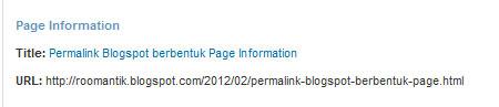 permalink-berbentuk-page-information
