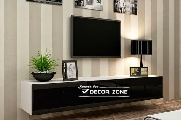 Simple TV Wall Units For Modern Living Rooms