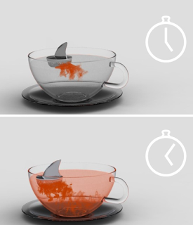 The Ultimate Fun Foodie-Friendly Gift List - Sharky tea infuser