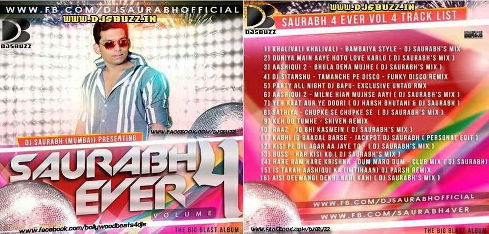 saurabh 4 ever vol 4 album download