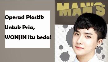 operasi plastik untuk pria di klinik bedah plastik wonjin seoul Korea