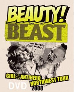 SKATERNOISE GIRL / ANTI-HERO - Beauty and The Beast