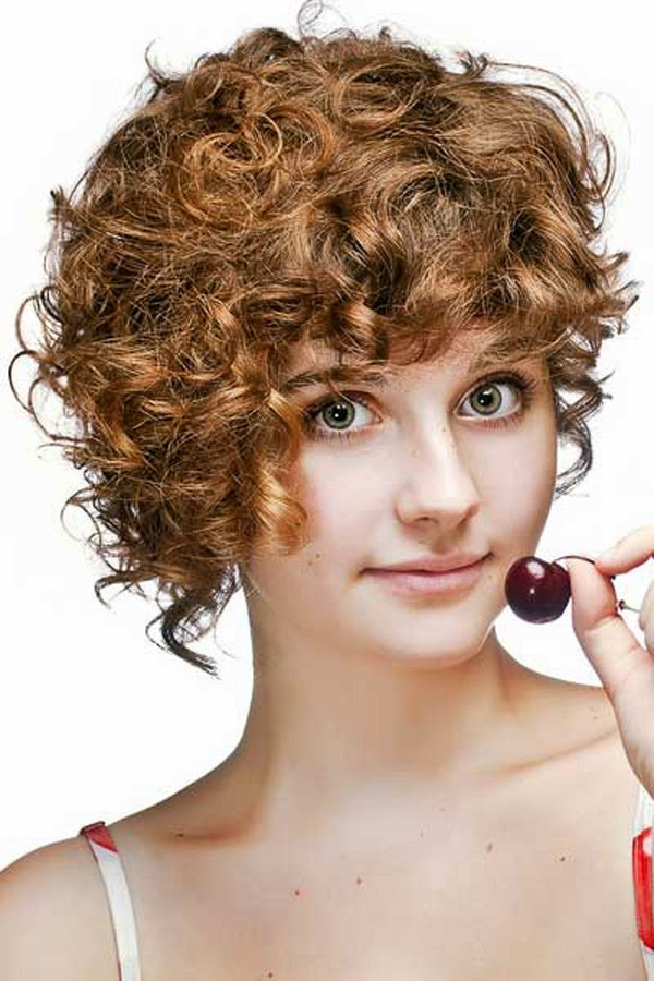 Cute Short Curly Hairstyle for Girls: Girls Hairstyles 2014 - Pretty ...