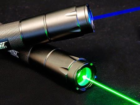 El comportamiento de la luz con los laser