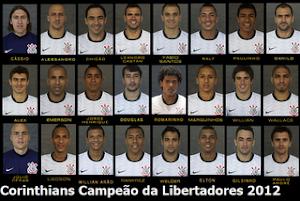 Jogadores Campeões da Libertadores 2012