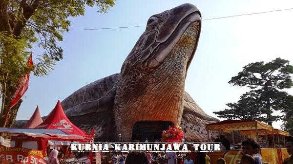 kura-kura ocean park museum jepara