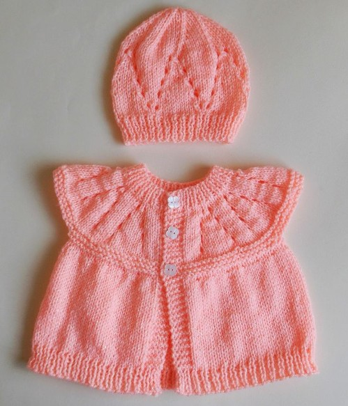 All-in-One Baby Tops (6 months) and (9 - 12 months) - Free Pattern