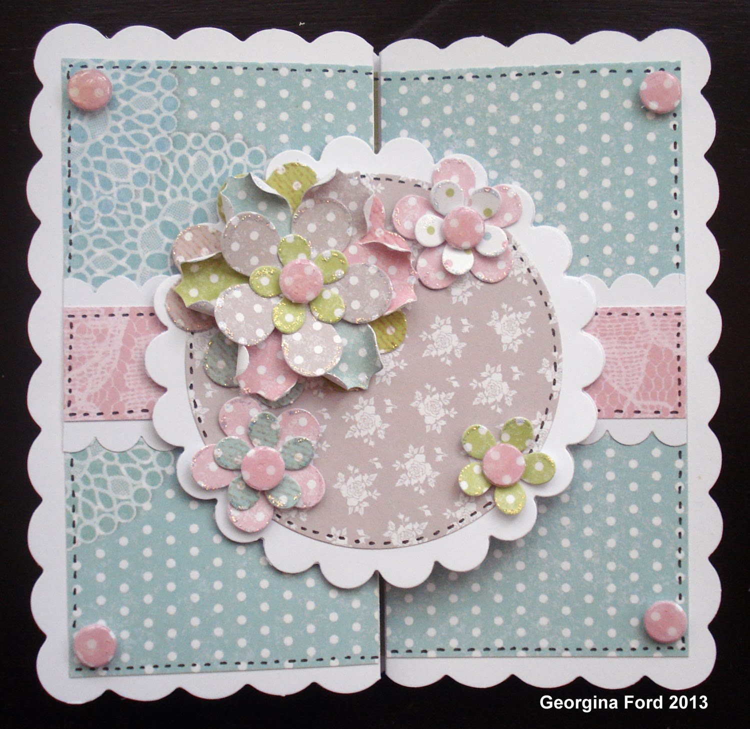 Beautiful flowers – Craftwork Cards Blog