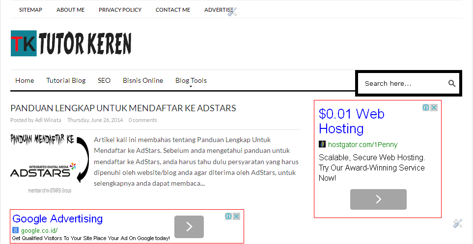 iklan,adsense,google adsense,blogger,ads