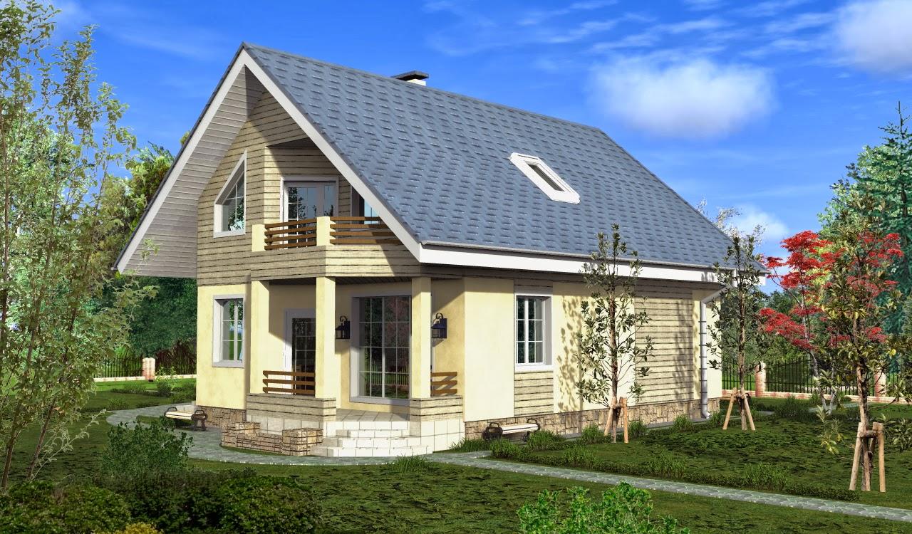 Проекты дачных домов: готовые и типовые Каталог содержит