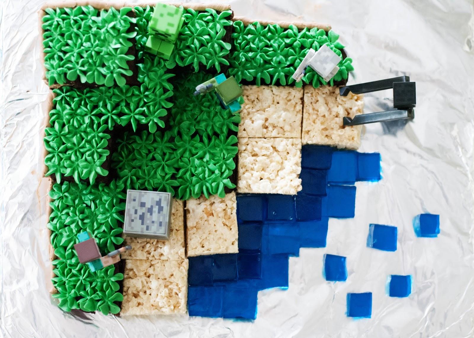 How To Make A Minecraft Cake Recipe