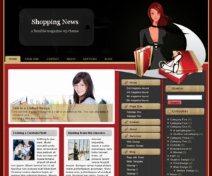 Shopping News WordPress Theme
