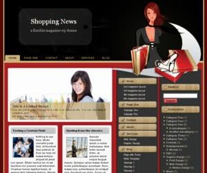 Shopping News WordPress Theme