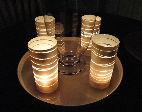 Pinklet and c diy ideas for Homemade votive candles
