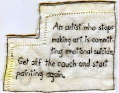 Artist's Admonition