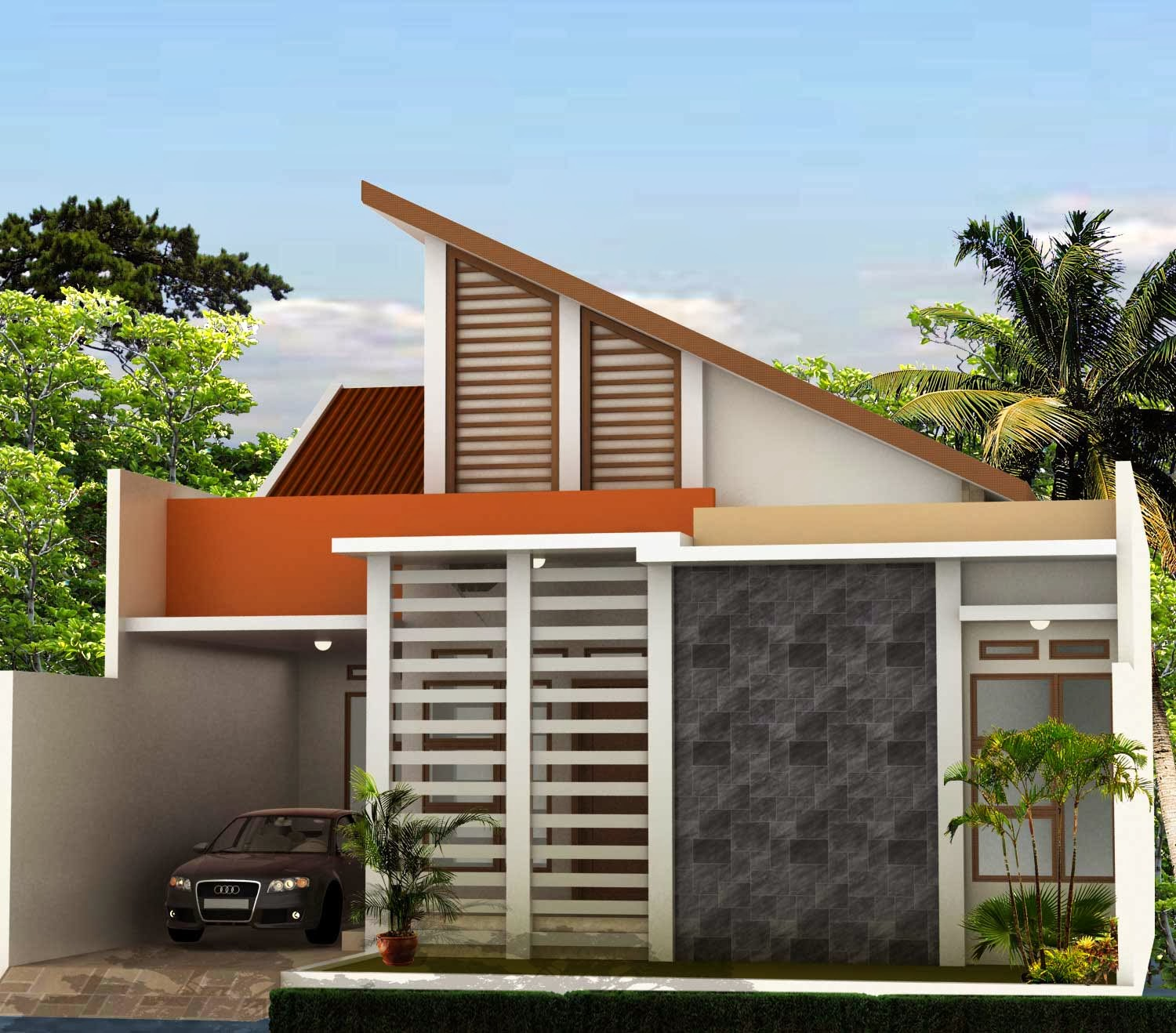 Modern Design Home Modern Minimalist House Design 1 and 2 Floors