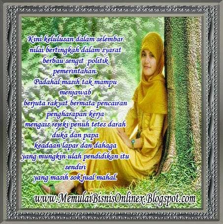 Bingkai Foto Cewe/Wanita Cantik Berjilbab. Cantik Bingkai Foto Gambar ...