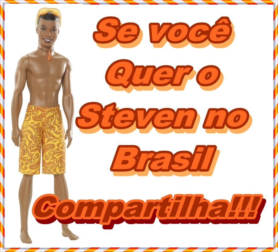 Steven no Brasil