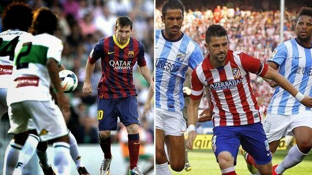 برشلونة واتلتيكو مدريد يرفضان هدايا بعضهما وحسم اللقب يتأجل للكامب نو