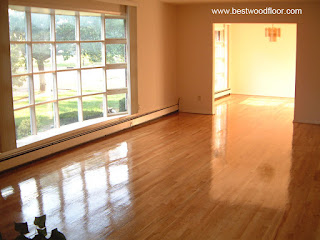 After - Sanding and refinishing hardwood floor New Jersey NJ
